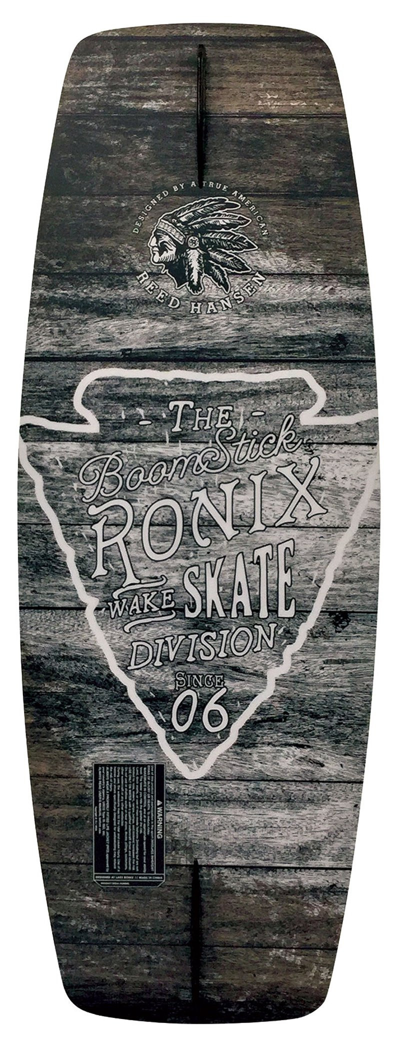 RONIX 2018 BOOMSTICK BI LEVEL SINTERED WAKESKATE