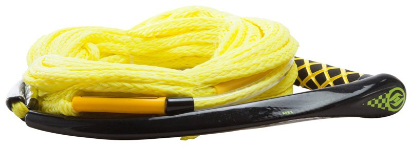 HYPERLITE 2018 APEX PE EVA HANDLE W/ 4 SECTION POLY-E MAINLINE - YELLOW