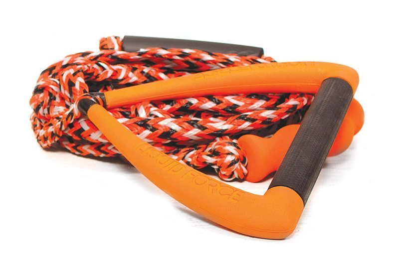 "LIQUID FORCE SURF DLX 9"" MOLDED ROPE - ORANGE"