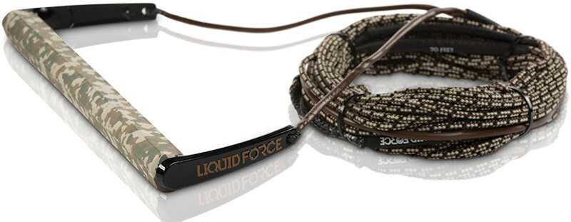 LIQUID FORCE 2018 TEAM HANDLE WITH H-BRAID LINE - CAMO