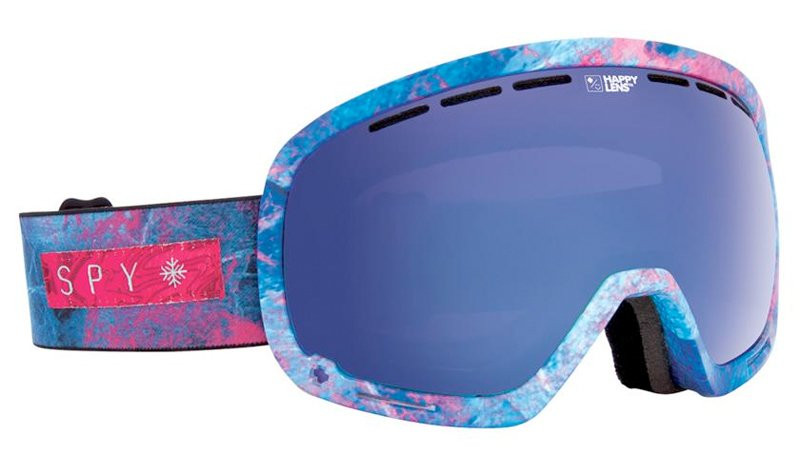 SPY MARSHALL SNOW GOGGLES- MARBLED PURPLE/HAPPY ROSE DARK BLUE SPECTRA