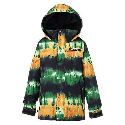 BURTON 2017 BOYS AMPED JACKET - SLIME SURF