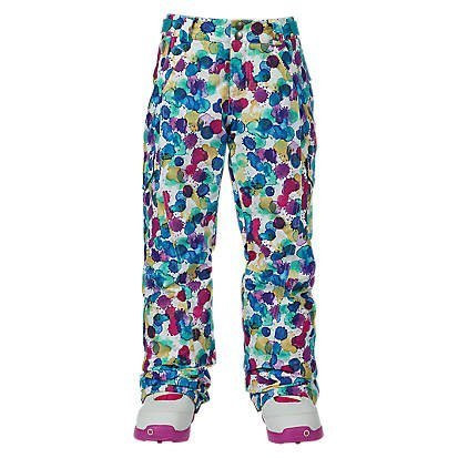 BURTON GIRLS ELITE CARGO PANT - RAINBOW DROP