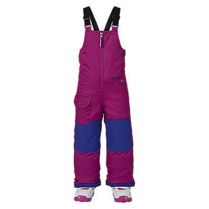 BURTON GIRLS MINISHRED MAVEN BIB PANT - GRAPESEED