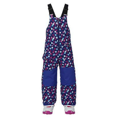 BURTON GIRLS MINISHRED MAVEN BIB PANT - IKAT DOT