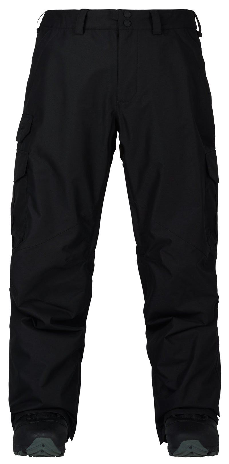 BURTON MENS CARGO-RELAXED FIT SNOW PANT - BLACK