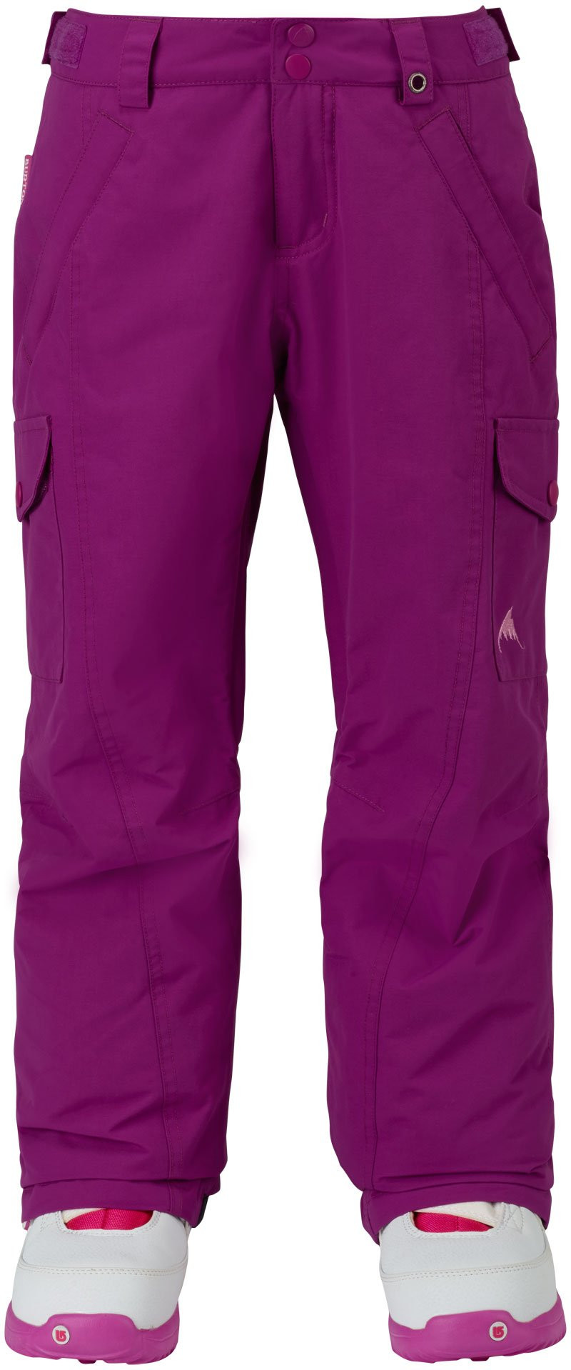 BURTON GIRLS ELITE CARGO SNOW PANT - PURPLE