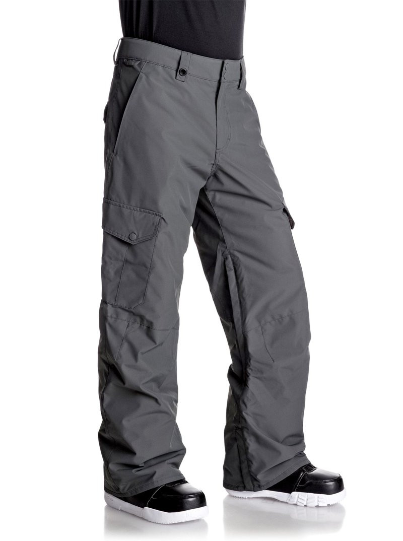 QUIKSILVER PORTER SNOW PANTS- GREY
