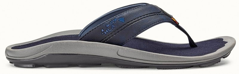 OLUKAI KIPI MENS SANDAL - TRENCH BLUE