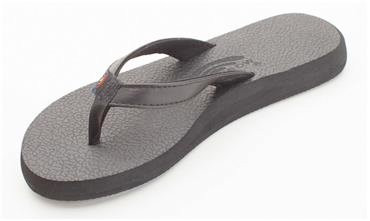RAINBOW THE COTTONS WOMENS SANDALS - BLACK
