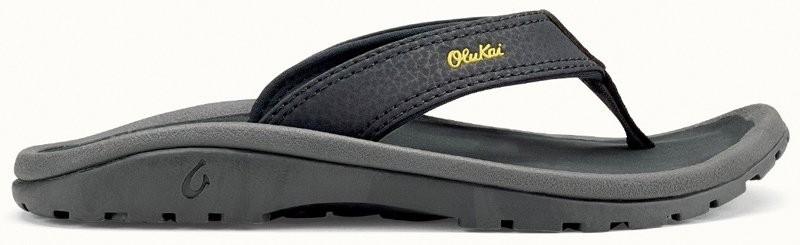OLUKAI 'OHANA BOYS SANDAL - BLUE/DARK SHADOW