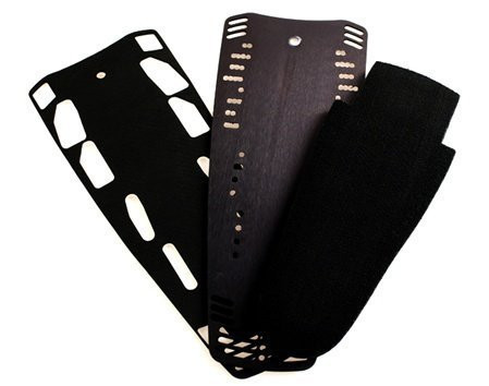D3 LEVERAGE REAR PLATE WITH PADS