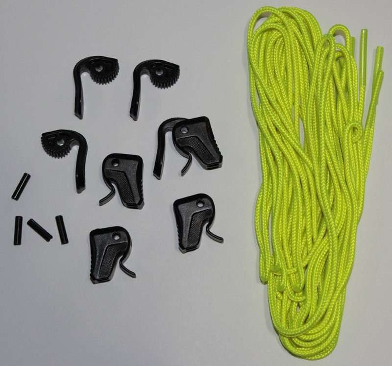 RONIX LACE LOCK KIT - YELLOW