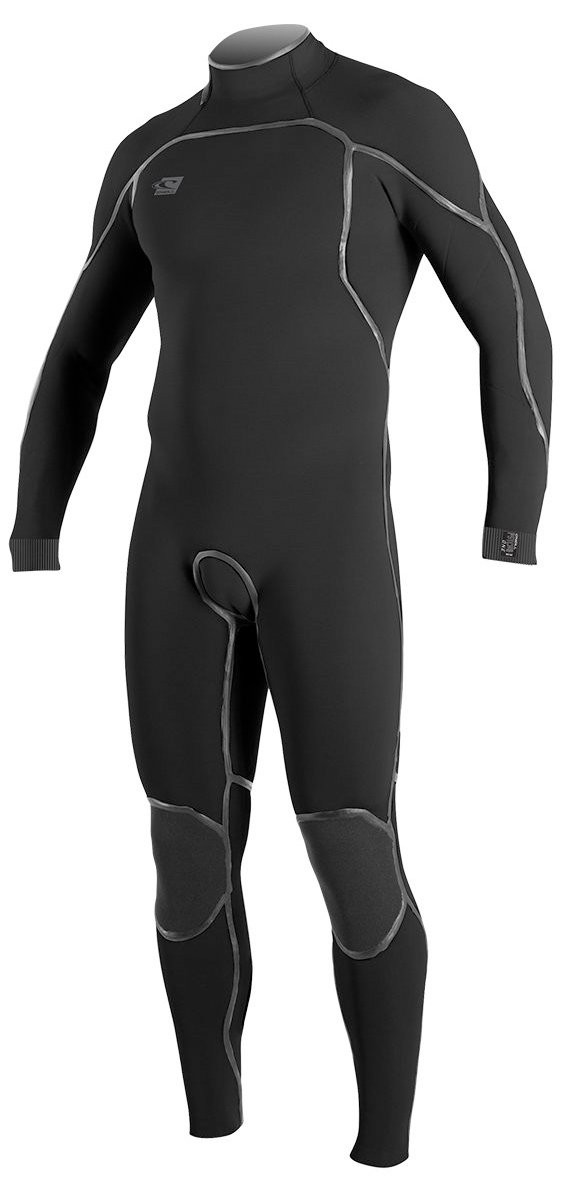 O'NEILL PSYCHO 1 ZEN ZIP 3/2 FULL SUIT