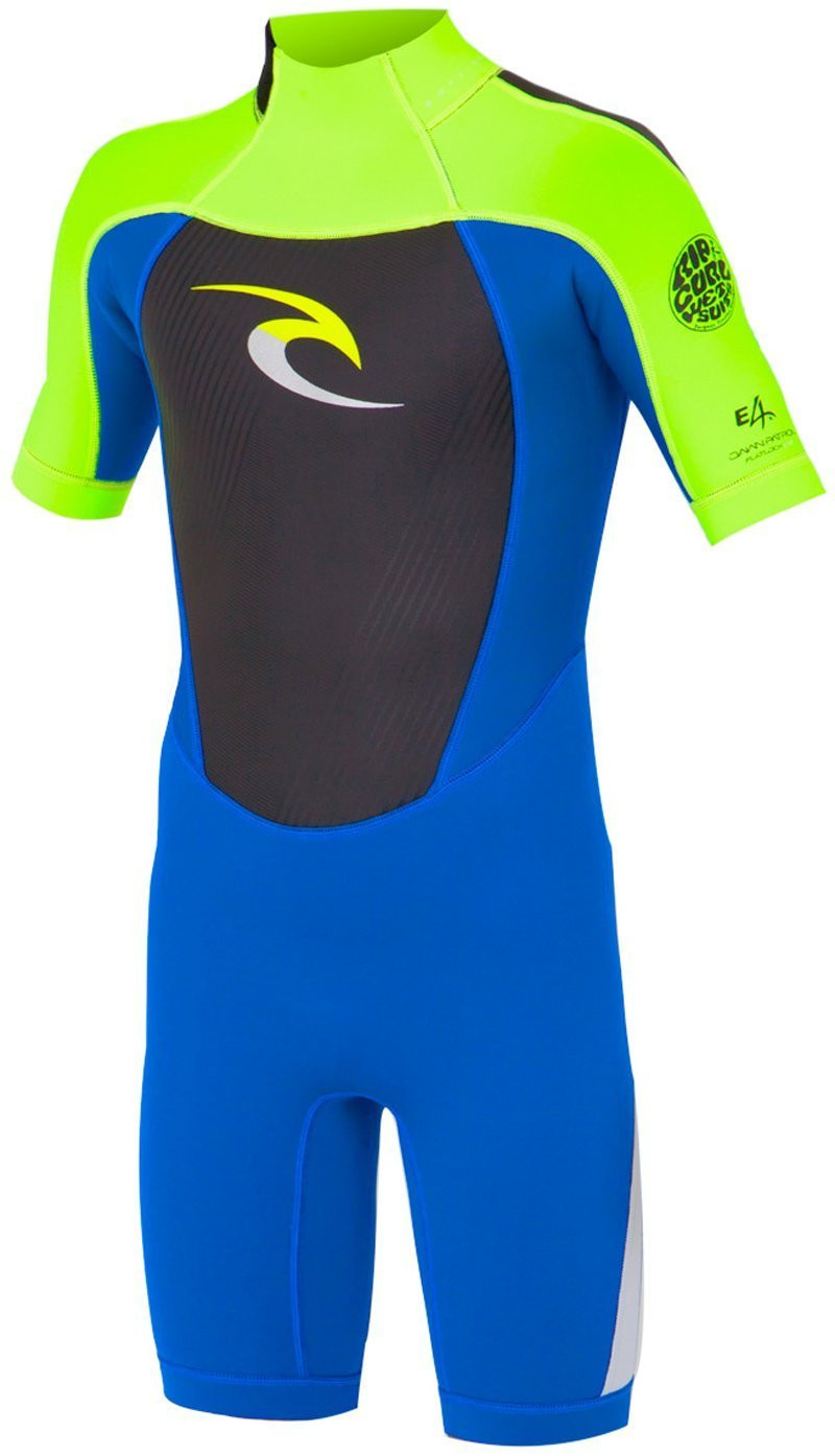 RIP CURL KIDS DAWN PATROL SHORT SLEEVE SPRING SUIT