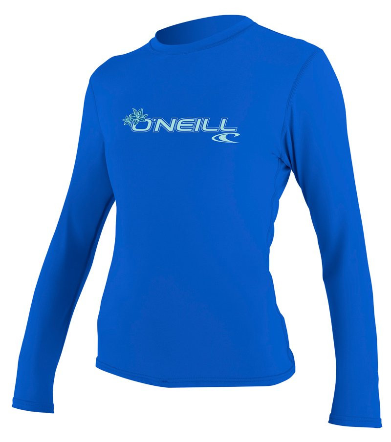 O'NEILL WOMENS BASIC SKINS LONG SLEEVE CREW