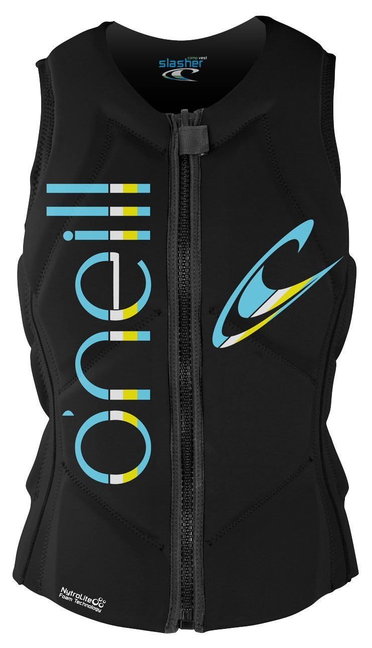 O'NEILL 2017 WOMENS SLASHER COMPETITION VEST - BLACK