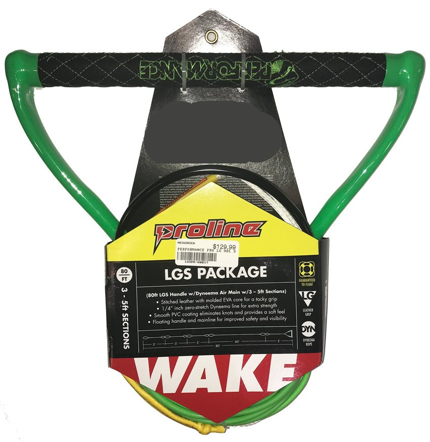 PERFORMANCE LGS HANDLE W/ 3-5FT SECTIONS - GREEN
