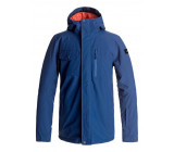 QUIKSILVER MISSION SNOW JACKET - BLUE