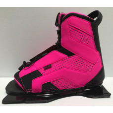 RADAR SMU LYRIC PINK FEATHER FRAME FRONT BOOT