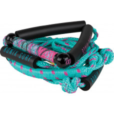 "RONIX Women's Bungee Surf Rope - 10"" Handle - 25ft 4 - Section. Rope"