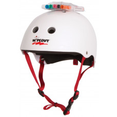 LIQUID FORCE 2018 KIDS WIPEOUT HELMET- WHITE