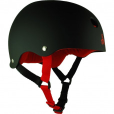 TRIPLE 8 THE HEED HELMET BLACK XXL ONLY