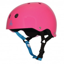 TRIPLE 8 BRAINSAVER HELMET NEON FUSCHIA GLOSS