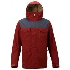 BURTON MENS COVERT INSULATED JACKET - RED