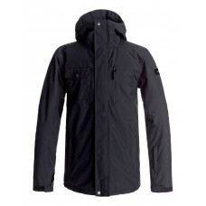 QUIKSILVER MISSION SNOW JACKET - BLACK