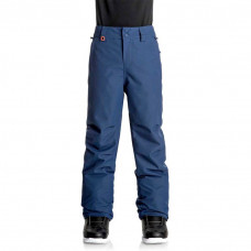 QUIKSILVER ESTATE BOYS YOUTH SNOW PANTS- BLUE