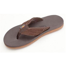 RAINBOW EAST CAPE MENS SANDALS - DARK BROWN