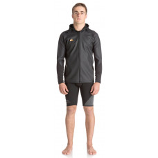 QUIKSILVER WATERMAN PADDLE-HOODED FRONT ZIP JACKET