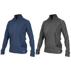 O'NEILL WOMENS HYBRID ZIP MOCK JACKET