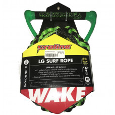 "PERFORMANCE LG PRO 10"" SURF ROPE W/ 3-3FT SECTIONS- GREEN"