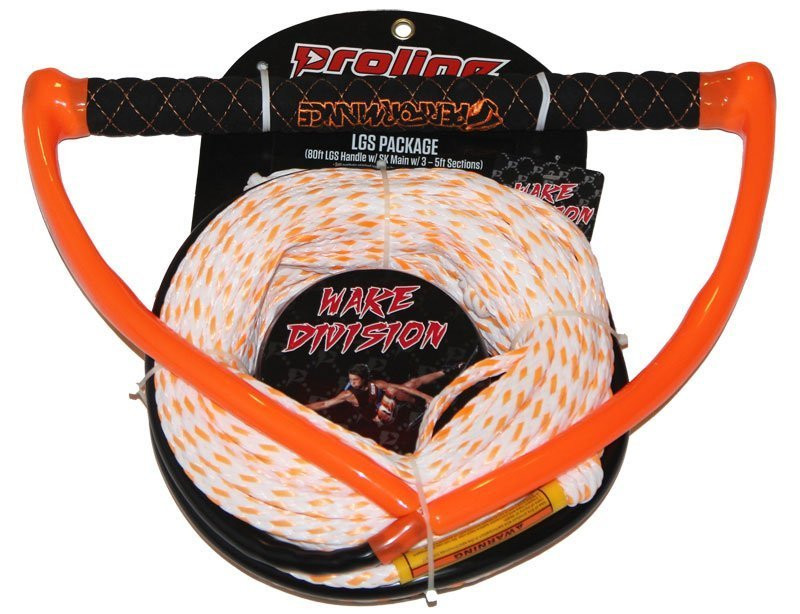 PERFORMANCE LGS HANDLE W/ POLY-E 3-5FT SECTIONS - ORANGE