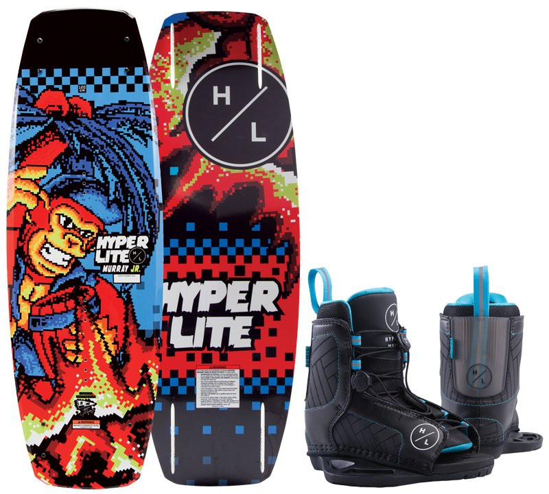 HYPERLITE 2019 MURRAY 120 JR BOARD AND REMIX BLUE BOOT PACKAGE