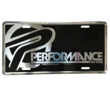 PERFORMANCE LICENSE PLATE