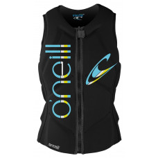 O'NEILL 2018 WOMENS SLASHER COMPETITION VEST - BLACK